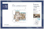 香悦四季3室2厅2卫0平方米户型图