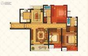 江铃瓦良格3室2厅2卫117平方米户型图