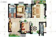 恒基碧翠锦华3室2厅2卫142平方米户型图