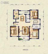 保艾尔云麓3室2厅2卫263平方米户型图