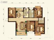 联诚雅郡4室2厅2卫118平方米户型图