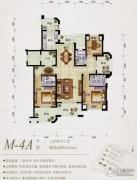 保利天骄3室2厅3卫140平方米户型图