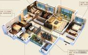 颐和山庄4室3厅3卫251--258平方米户型图