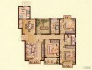 荣记玖珑湾3室2厅2卫143平方米户型图
