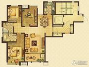 远见3室2厅2卫129平方米户型图