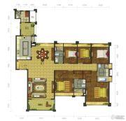 珑翠6室2厅4卫199--250平方米户型图