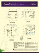 碧桂园山水桃园317平方米户型图