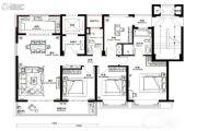 旭辉铂宸府4室2厅2卫138平方米户型图