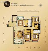 外滩・龙庭帝景4室2厅2卫0平方米户型图