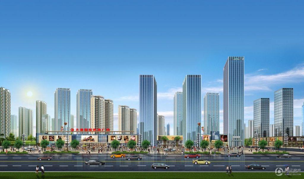 大唐国际城效果图