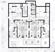 京汉东方汇4室0厅4卫42平方米户型图