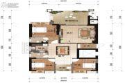万欣・新天地3室2厅2卫0平方米户型图