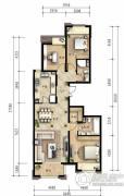 龙湖长楹天街3室2厅2卫140平方米户型图