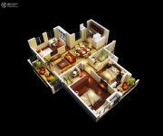 金丽园3室1厅2卫112平方米户型图