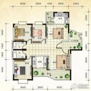 国际新城3室2厅2卫147平方米户型图