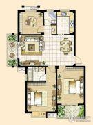 峰景湾3室2厅2卫112平方米户型图