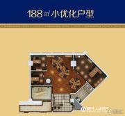 环球万豪中心1室0厅0卫188平方米户型图