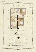金麦加汇君城2室2厅1卫94平方米户型图