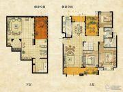 达安上品花园3室3厅2卫234平方米户型图