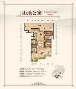 水梦庭苑4室2厅2卫125平方米户型图