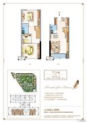 三盛托斯卡纳3期3室2厅2卫41平方米户型图