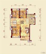 贵安新天地4室2厅2卫109平方米户型图