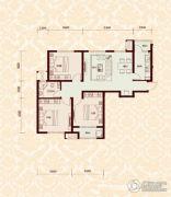 怡水公馆3室2厅1卫0平方米户型图