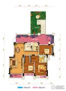 两江春城0室0厅0卫108平方米户型图
