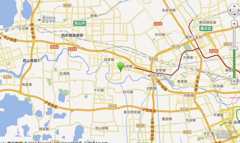 绿地21城滨江汇小爱交通图
