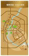 桂林高新万达广场交通图