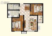 泉韵兰亭2室2厅1卫0平方米户型图