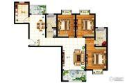 圣地亚哥3室2厅2卫116平方米户型图