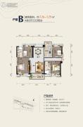 碧桂园太东公园上城4室2厅2卫0平方米户型图