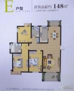 锦绣山阳3室2厅2卫146--149平方米户型图