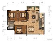 领美・大学家园3室2厅1卫95平方米户型图