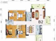 东盟华府4室2厅2卫0平方米户型图