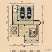 浪琴湾1室1厅1卫150平方米户型图