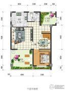 闲情偶寄3室2厅2卫115平方米户型图