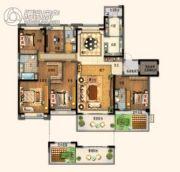 碧桂园欧洲城5室2厅3卫266平方米户型图