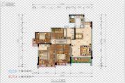 希望・玫瑰园4室2厅2卫132平方米户型图