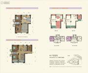 群升江山城5室2厅3卫156平方米户型图
