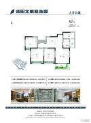 洛阳北航科技园3室2厅1卫111--114平方米户型图