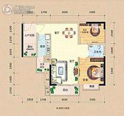龙光阳光海岸2室2厅1卫76平方米户型图