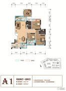天立香缇华府4室2厅2卫117--130平方米户型图