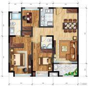 承安南湖壹品3室2厅2卫95平方米户型图