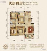 新野春天花园4室2厅2卫132平方米户型图