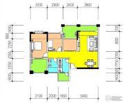金癸领海郡3室2厅1卫88平方米户型图
