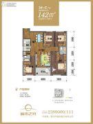 城市之光4室2厅2卫142平方米户型图