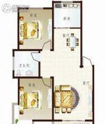 联太翡翠雅苑2室2厅1卫92平方米户型图
