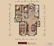 中广宜景湾・尚城4室2厅2卫212平方米户型图